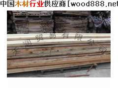 柞木原木烘干板材