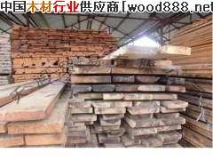 榆木原木烘干板材