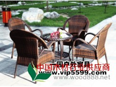 一园户外家具藤椅54-2C