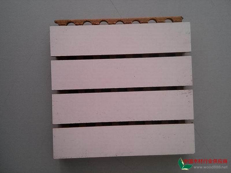 深圳槽木吸音板工厂防火环保槽木吸音板