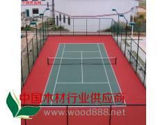 羽毛球场|塑胶网球场设计-青岛海润佳