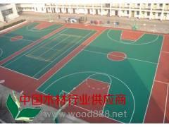 塑胶篮球场、塑胶跑道--青岛海润佳塑胶铺装