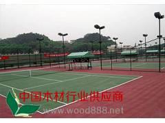 塑胶网球场、塑胶跑道-青岛海润佳铺装