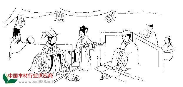 古装汉朝嫔妃图片手绘
