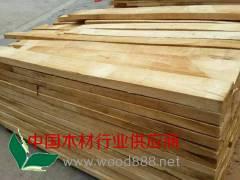 东莞兴富林木业供应优质海南橡胶木自然板