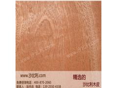 进口精品 球纹沙比利木皮 东莞天然木皮 质优东莞木皮