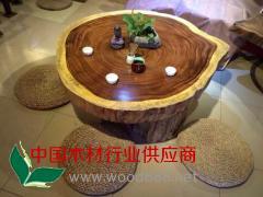 小斑马茶几 精品小斑马大板桌 实木大板桌长期供应