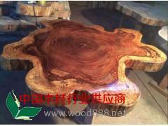 精品小斑马大板桌 实木大板桌长期供应