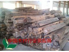 供应缅甸黑酸枝原木
