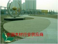 青岛防腐木地板,青岛防腐木,青岛碳化木,木制园林景观工程
