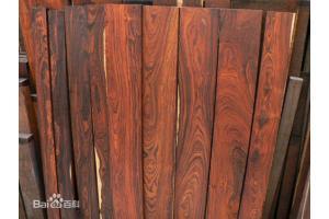 上海木材商场大果紫檀以及小叶红酸枝等红木行情剖析