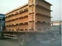 钢带夹板箱