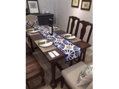 南美黑胡桃(琥珀木)餐桌