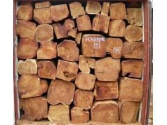 出售非洲缅茄木原木