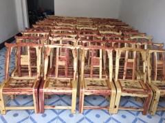 红心柏木椅子