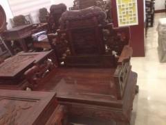 实木 雕花沙发