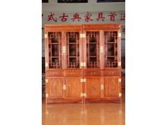 古典实木书柜