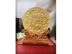 黄杨木圆盘