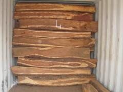 进口优质亚花梨原木实木高档家具亚花梨原木非洲亚花梨提单