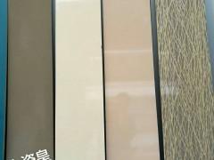 优质耐磨耐刮分色水晶板批发