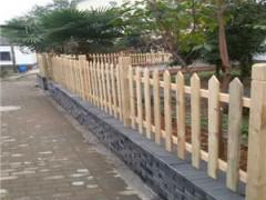 厂家直销深圳户外花园木栏杆