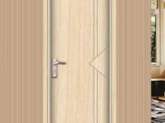 川广木业-平板门平开门房门开线平板门实木复合门烤漆门YM-40