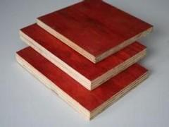厂家直销建筑模板防水多层模板木模板红模板