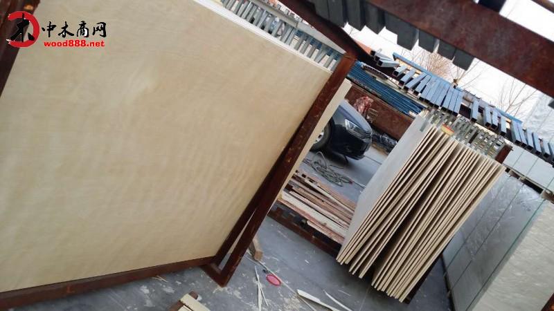 精品漂白桦木多层美式橱柜板 家具板 包装板