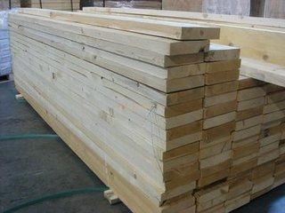 优质白松原木板材批发