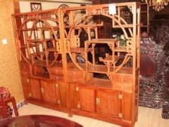 屏风隔断时尚实木座屏防水办公屏风客厅卧室中式屏风