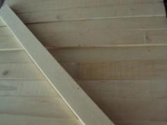 纯白杨木木线条 无节杨木木线条顺向板 可以定做长度