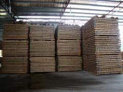 东莞市华虎木业 定制印尼橡胶料刨光料 橡胶木指接板 货柜地板