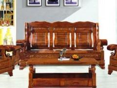 实木沙发中式全实木沙发组合家具转角沙发客厅沙发茶几沙发