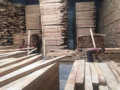 东莞森隆木业批发海南橡胶木板材方料
