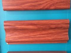 实木衣柜罗马柱顶线 罗马柱石膏线背景墙  石膏线罗马柱
