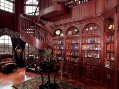 整体木制家具装饰  书柜  酒柜