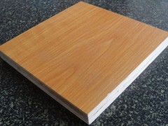 E0厚芯实木生态板  高档家具 首选用料