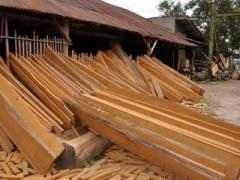 直销柚木板材  家具木  定制柚木地板  工艺品原料