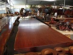 鸡翅大板 非洲草花梨木大板 实木大板 鸡翅大板茶几