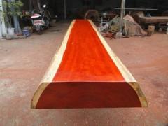 红花梨大板_实木红花梨平板_红花梨桌子