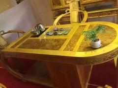 优质精品金丝楠木泡茶桌 天然实木 质量保证
