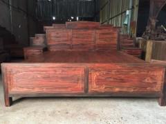精选黑料 中式 仿古 红木 家具 老挝 红酸枝 大红酸枝