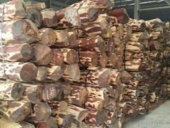 血檀 赞比亚血檀 坦桑血檀小叶紫檀 血檀原木 工艺品原料血檀