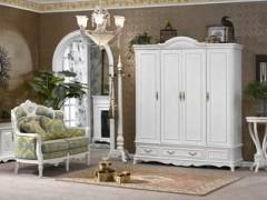 美式现式实木家具  实木衣柜  实木摆放台   欧式家具