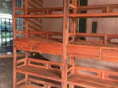 交趾黄檀 明式书柜精品无瑕疵定制、两米乘以两米 凭祥市匠心居红木家具店