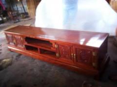 交趾黄檀 电视柜 两米 面独板、漂亮纹路好货 凭祥市匠心居红木家具店