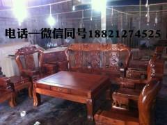 缅甸花梨 象头沙发 十件套 十二公分扶手 凭祥市匠心居红木家具店