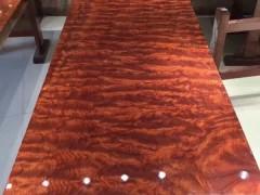 厂家直销巴花大板现货实木原木花梨木红木大板桌大班台老板办公桌