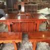 缅甸花梨将军茶台 用料全部独板 本厂产