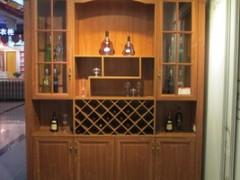 高端欧式酒柜定制  实木复古酒柜  酒柜设计定制   酒柜
